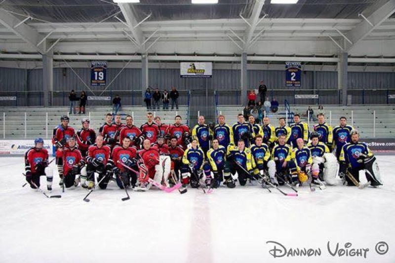 Charity Ice Hockey Game April 21st